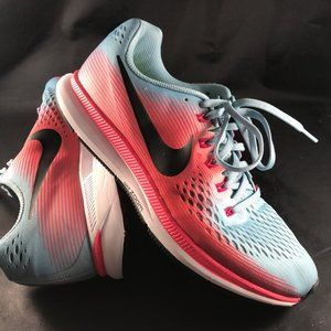 Mint Cond. NIKE AIR ZOOM Pegasus 34 Blue Red 10.5